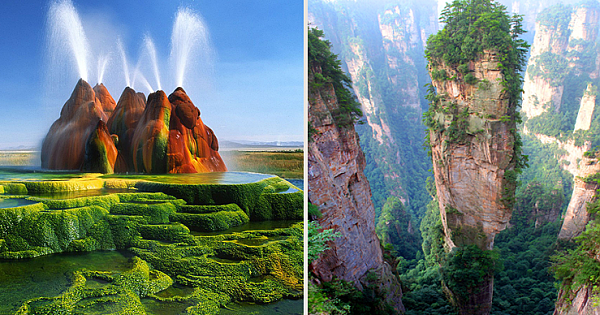 20 Out-Worldly Places On Earth That Look So Unrealistic, But They Aren't