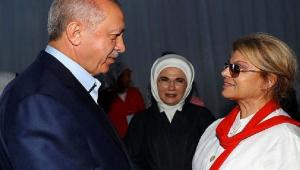Erdoğan'ın eski Başbakan Tansu Çiller ile bir araya geldiği belirtiliyor.